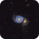The Whirlpool Galaxy - M51,                                Michael Kalika