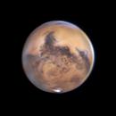 Mars October 22 2020 with Syrtis Major,                                Kevin Parker