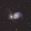Messier 51,                                Marko Emeršič