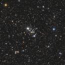 M 103 / NGC 581 / Cr 14 / Melotte 8,                                Daniel Beaulieu