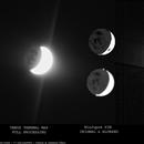Venus thermal map - 9th of May 2020,                                Łukasz Sujka