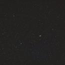 M51 (Whirlpool galaxy) old data / Canon 100Da+Samyang 135mm f/2.0 / Star adventurer / SIRIL 0.9.11,                                patrick cartou