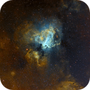 Messier 17 en SHO,                                Georges