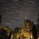 Star trails 20210615,                                Sergio Alessandrelli