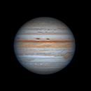 Io, Ganymede, Jupiter & Europa 2021-08-19 16:46UT,                                David Cheng
