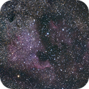 NGC7000 - North America Nebula,                                Brieuc Baillot