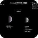 Vénus du 09-07-2018,                                Nicolas JAUME