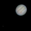 Jupiter & Io July 30 2020,                                Matt