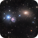 NGC2276 and NGC2300; A Beautiful Galaxy Pair in the North,                                astrofalls