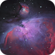 M42 Orion Nebula (First multi filtered image) Luminance/OIII/Ha,                                Michael Southam