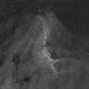 IC5070 - The Pelican Nebula - Hydrogen Alpha,                                Roberto Botero