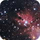 Nebulosa del cono NGC 2264,                                Rodrigo_Vera