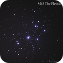 M45 The Pleiades Star Cluster,                                Kevin Smith