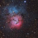 M20, Trifid Nebula,                                Sergey Trudolyubov