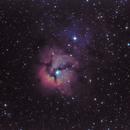 Messier 20 Dobson,                                Angel Galera