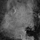 NGC 7000 Ha,                                Benoit Gagnon
