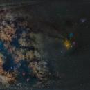 Milkyway galaxy with rho cloud complex,                                Rajesh Kharat