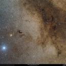 Dark Clouds Around Altair,                                Gabriel R. Santos (grsotnas)