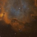 IC 1848 (Detail),                                Komet