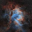 Sh2-132 - Lion Nebula,                                Michel Makhlouta