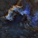 NGC 7000 - Nébuleuse de l'Amérique du Nord SHO,                                william lequin