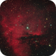 Pacman Nebula NGC281,                                Serge