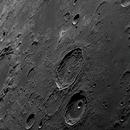 Cratères Atlas & Hercule , Lune du 19 Mars,                                Georges