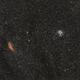 California Nebula and the Pleiades,                                Jammie Thouin