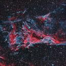 Pickering's Triangle - The Veil Nebula,                                CrestwoodSky
