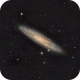 Silver Coin - the Sculptor galaxy.,                                Andrew Lockwood