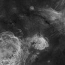 NGC 3293, Gabriela Mistral Nebula in Carina,                                José Joaquín Pérez