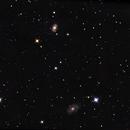 NGC 4156 and NGC 4151 (the Eye of Sauron ),                                Piet Vanneste