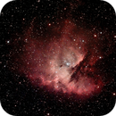 Pacman Nebula - NGC 281 - First Light AST8300B,                                HaSeSky