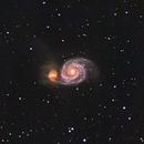 Whirlpool Galaxy,                                Everett Quebral
