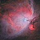 Zooming into M42 & 43,                                Ignacio Diaz Bobillo