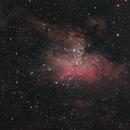 The Eagle Nebula in September 2019,                                Rudolf Bumm