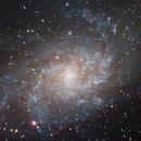 M33 - Core of the Triangulum Galaxy,                                Ludger Solbach