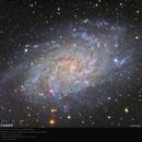 Messier 33 ( M33,  Triangulum Galaxy ),                                MoonPrince