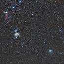 Du Baudrier d'Orion jusqu'à la Tête de la Sorcière,                                Philastro