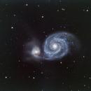 M51 - RGB - reprocessed with APP,                                Rodolphe Goldsztejn