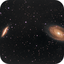 M81-M82 in RGB with entry-level refractor,                                Rodolphe Goldsztejn