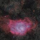 M8 (Lagune) refractor 80x480  /  ATIK ONE  /  EQ 3-2,                                Pulsar59