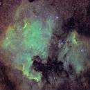 NGC 7000 SHO,                                Mobius_118
