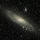 M31 Andromeda galaxy (livestacking with Sharpcap; 8 sec. frames),                                Doc_HighCo