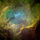 Gum 39 in Centaurus , the Mystery Nebula,                                John Ebersole