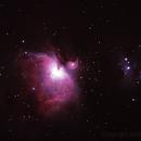 Messier 42 - NGC1976 - Orion Nebula & NGC1977 Running Man Nebula,                                Geoff Scott
