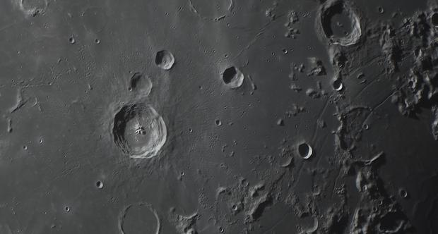 Bullialdus Crater and Rimae Hippalus,                                Anthony Quintile