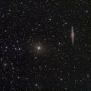 NGC 891 and surrounding in Pegaus,                                deppski