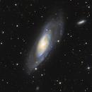 M106 with UGC7282,                                Jakob Sahner