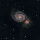 Whirpool Galaxy - M 51,                                GALASSIA 60